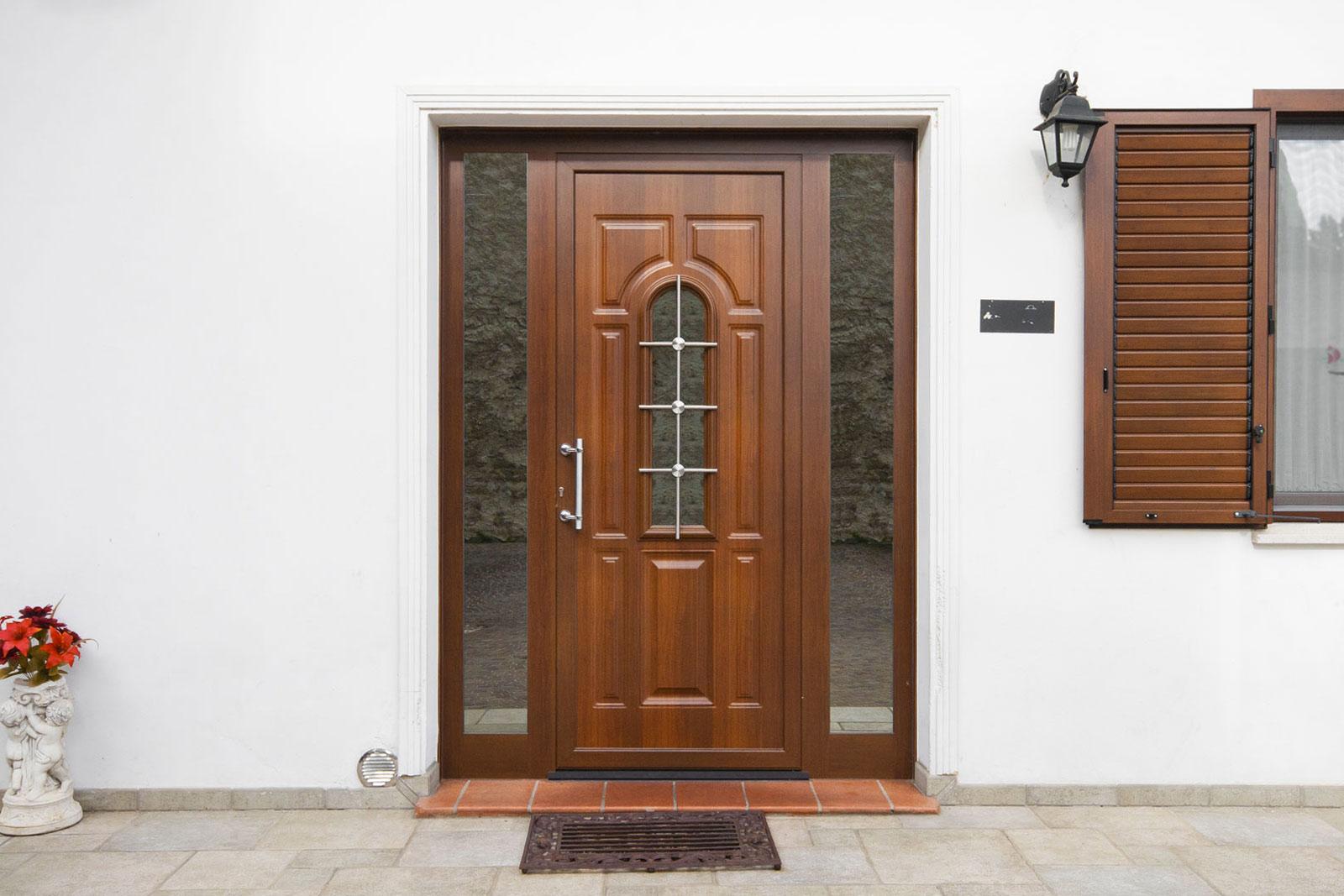 Porte esterne con vetro hh35 regardsdefemmes - Porte in alluminio per esterni prezzi ...