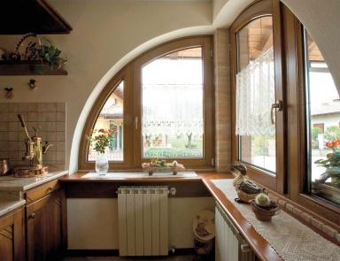Serramenti ed infissi alluminio legno gorizia serralluminio - Arco interno casa ...